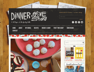 dinneralovestory.com screenshot