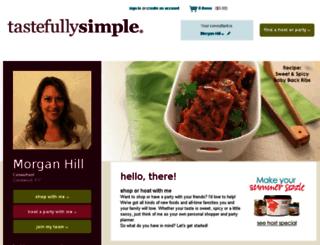 dinneranddish.com screenshot