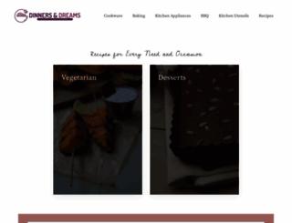 dinnersanddreams.net screenshot