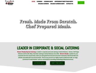 dinnersreadyarkansas.com screenshot