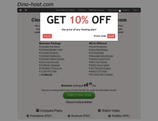 dino-host.com screenshot