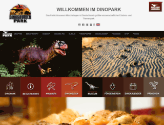 dinopark.de screenshot
