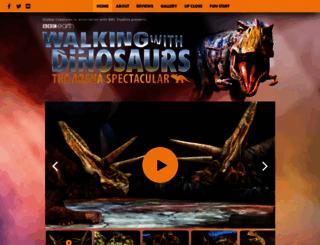 dinosaurlive.com screenshot