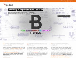 dins-inc.com screenshot