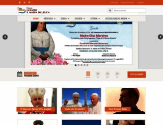 diocesiugento.org screenshot