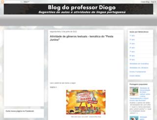diogoprofessor.blogspot.com.br screenshot