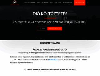 diokoltoztetes.hu screenshot