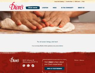 dions.atsondemand.com screenshot