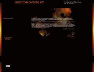 diosgyoriontode.com screenshot