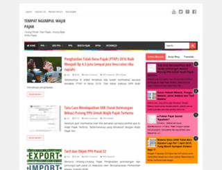 dipajak.blogspot.com screenshot