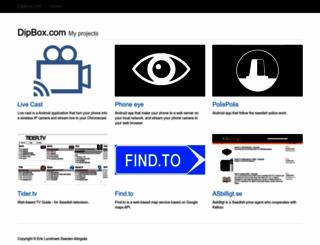 dipbox.com screenshot