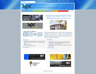 dipc.ehu.es screenshot