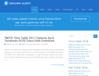 diplomaalerts.com screenshot