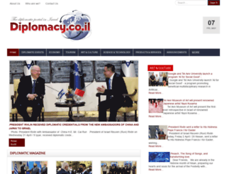diplomacy.co.il screenshot