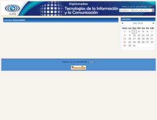 diplomados.ilce.edu.mx screenshot