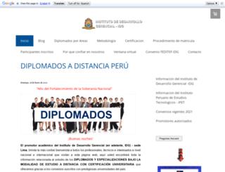 diplomadosadistanciaperu.jimdo.com screenshot