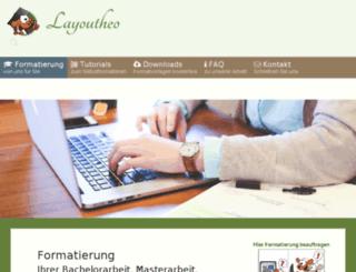 diplomarbeit-formatierung.de screenshot