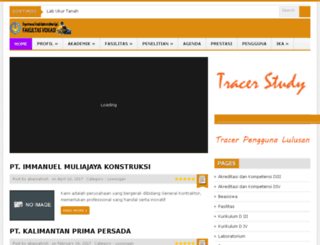 diplomasipil.its.ac.id screenshot