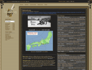 diplomaticcorp.com screenshot