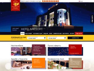diplomatplaza.com screenshot