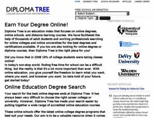 diplomatree.com screenshot