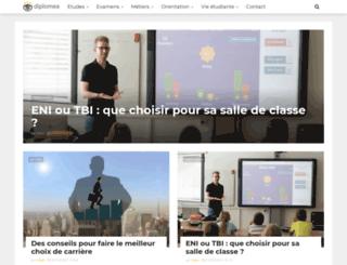 diplomea.fr screenshot