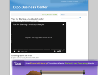 dipobusinesscenter.com screenshot