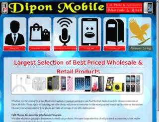 diponmobile.com screenshot