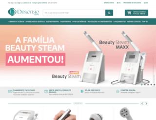diprofisio.com.br screenshot