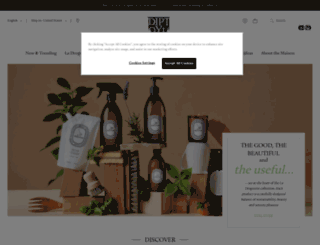 diptyqueparis.com screenshot