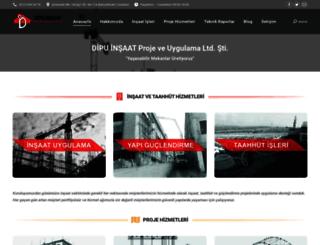 dipuinsaat.com screenshot