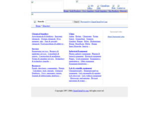 dir.chinachemnet.com screenshot