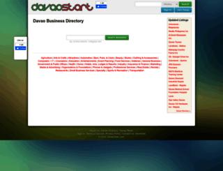 dir.davaostart.com screenshot