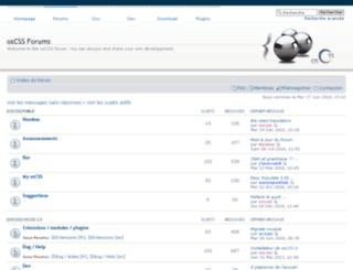dir.oscss.org screenshot