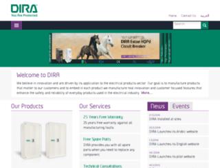 dira-electric.com screenshot