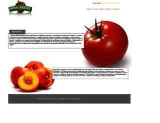 dirafrukt.eu screenshot