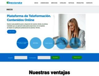 direccionate.es screenshot
