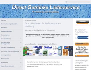 direct-getraenke.de screenshot