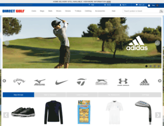 direct-golf.co.uk screenshot