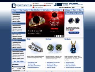 direct-jewelry.com screenshot