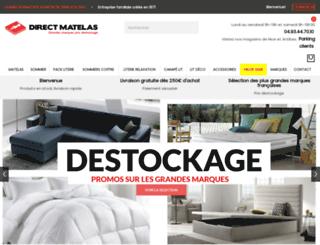 direct-matelas.fr screenshot