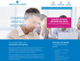 direct-mutuelle-groupe.com screenshot