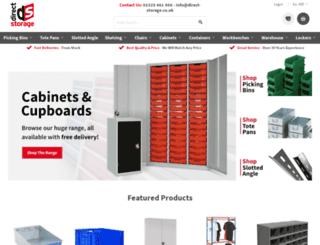 direct-storage.co.uk screenshot