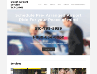 directairportservice.weebly.com screenshot