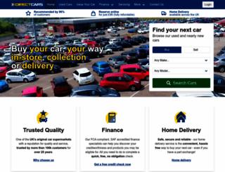 directcars.co.uk screenshot