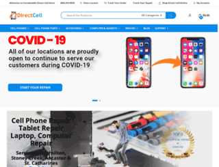 directcell.ca screenshot