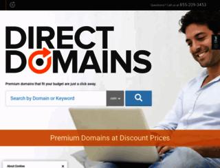 directdomains.com screenshot