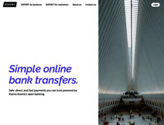 directebanking.com screenshot