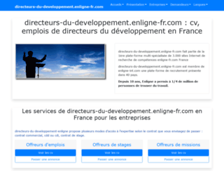 directeurs-du-developpement.enligne-fr.com screenshot