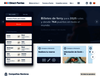 directferries.es screenshot